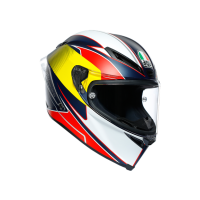 AGV CORSA R E2205 MULTI - SUPERSPORT BLUE/RED/YELLOW